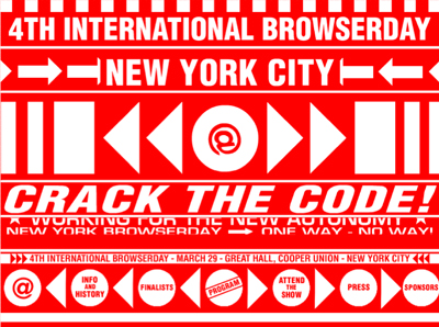 Website Browserday New York 2001