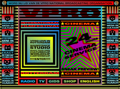 Website for VPRO 1997
